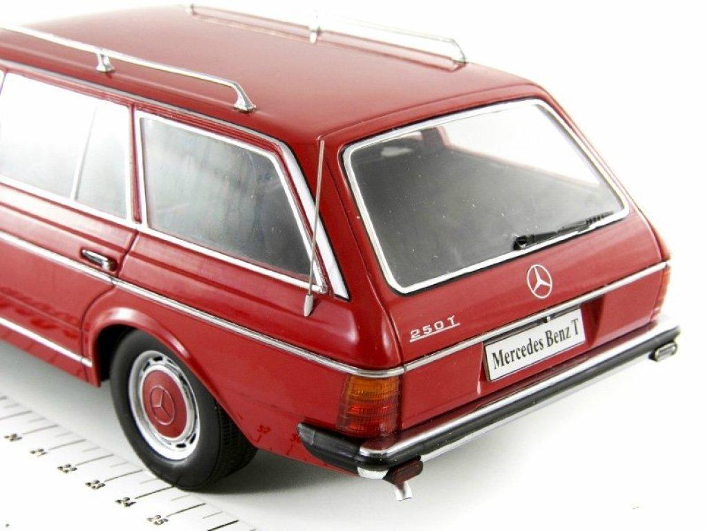 1:18 KK Scale Mercedes-Benz 250T S123 (W123) 1978 красный мет