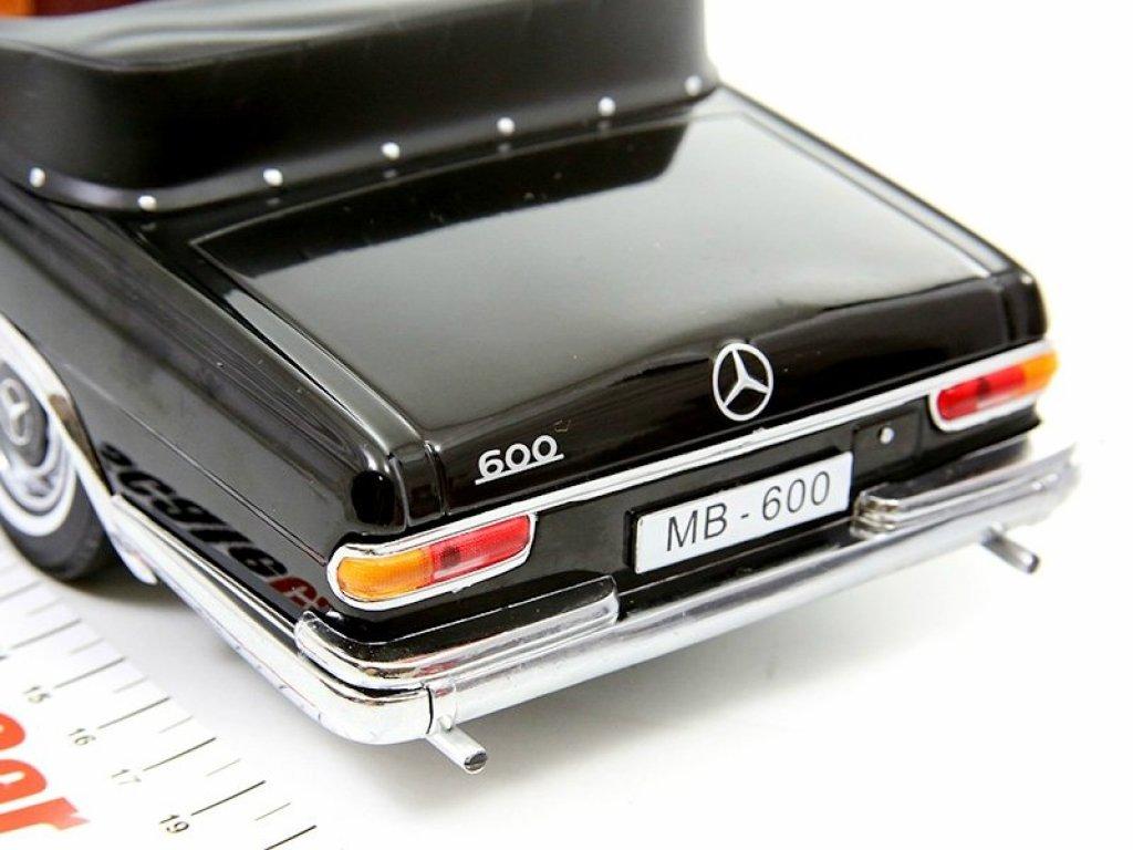 1:18 Sunstar Mercedes-Benz 600 Landaulet (W100) 1966 черный