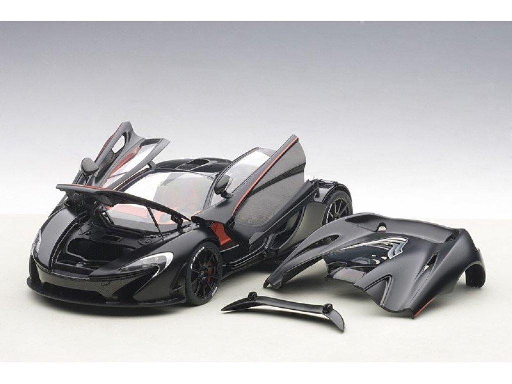 1:18 AUTOart McLaren P1 2013 черный матовый