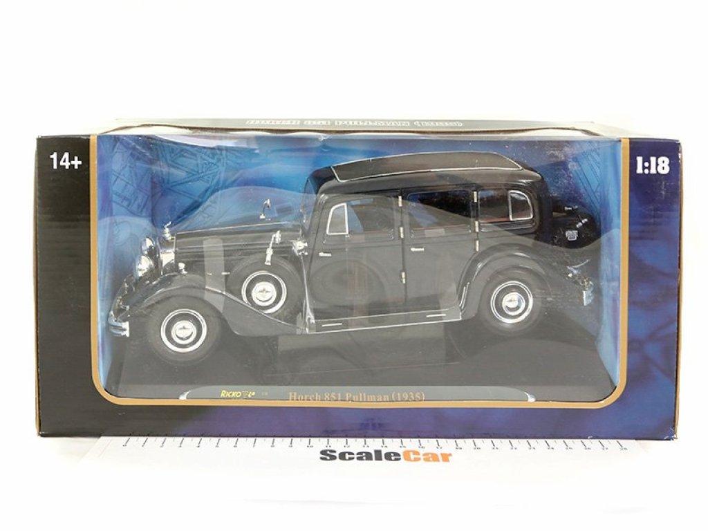1:18 Ricko Horch 851 Sedan 1935 черный