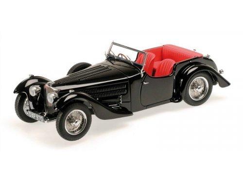 1:18 Minichamps Bugatti Type 57C Corsica Roadster 1938 черный
