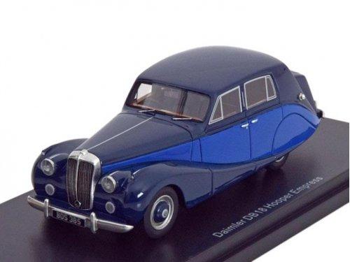 1:43 Best of Show Daimler DB18 Hooper Empress 1950, blue/dark blue синий/темно-синий