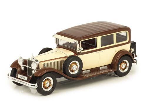 1:43 Altaya Mercedes-Benz Nürburg 460 Pullman Limousine (W08), 1929 бежевый/коричневый