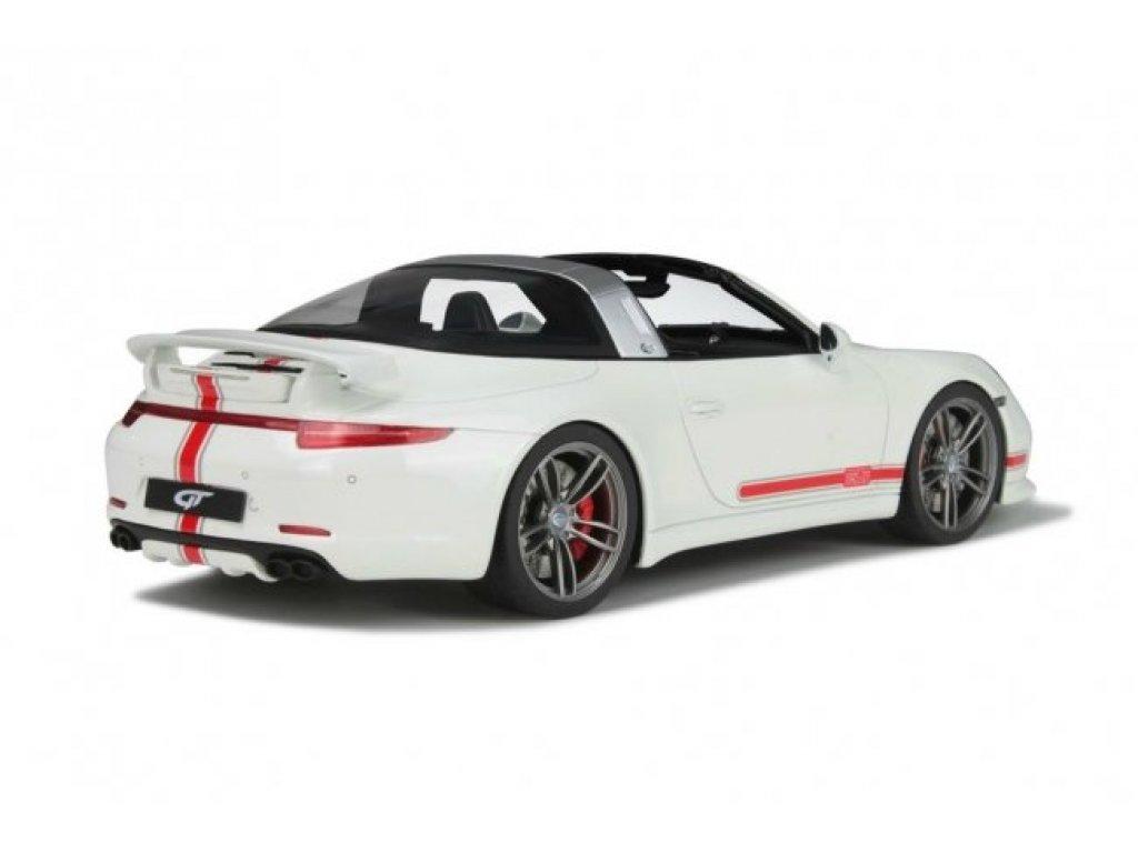 1:18 GT Spirit TechArt 911 Targa (Porsche 911) Solid White белый