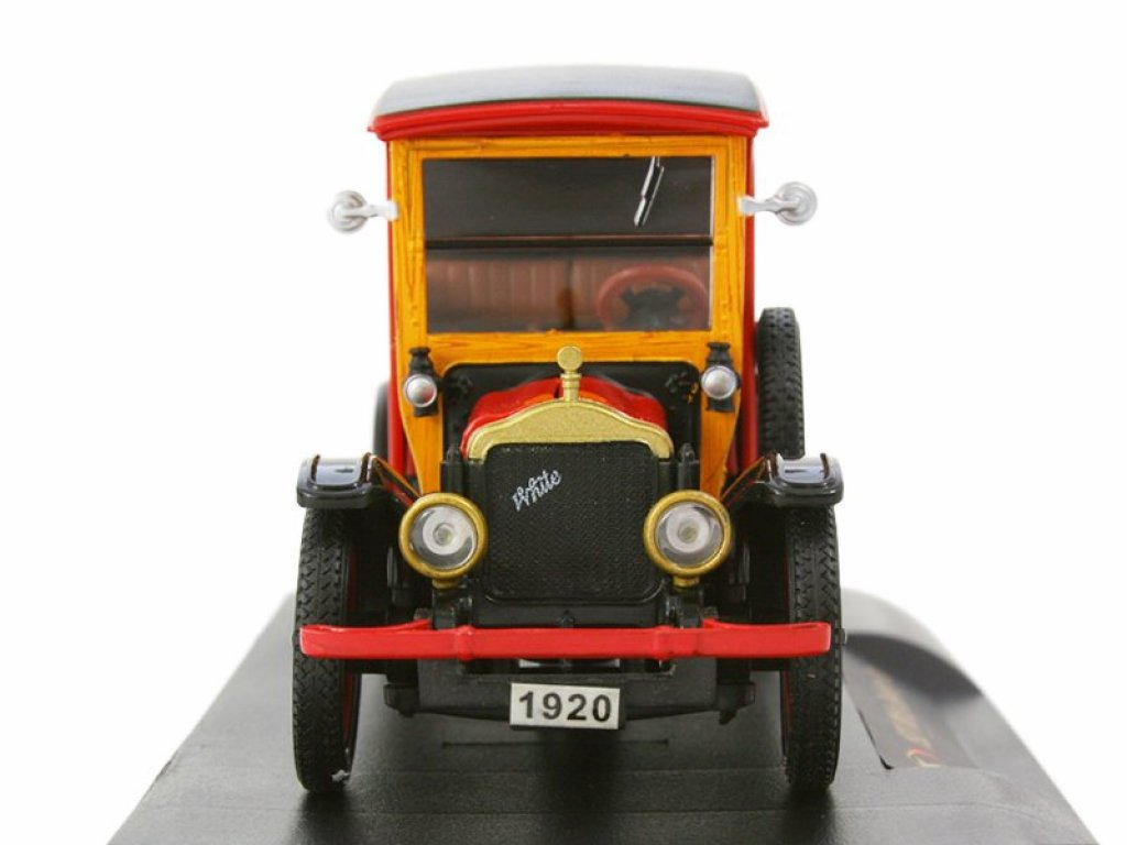 1:32 Signature White 1920 Texaco Delivery Van фургон красный