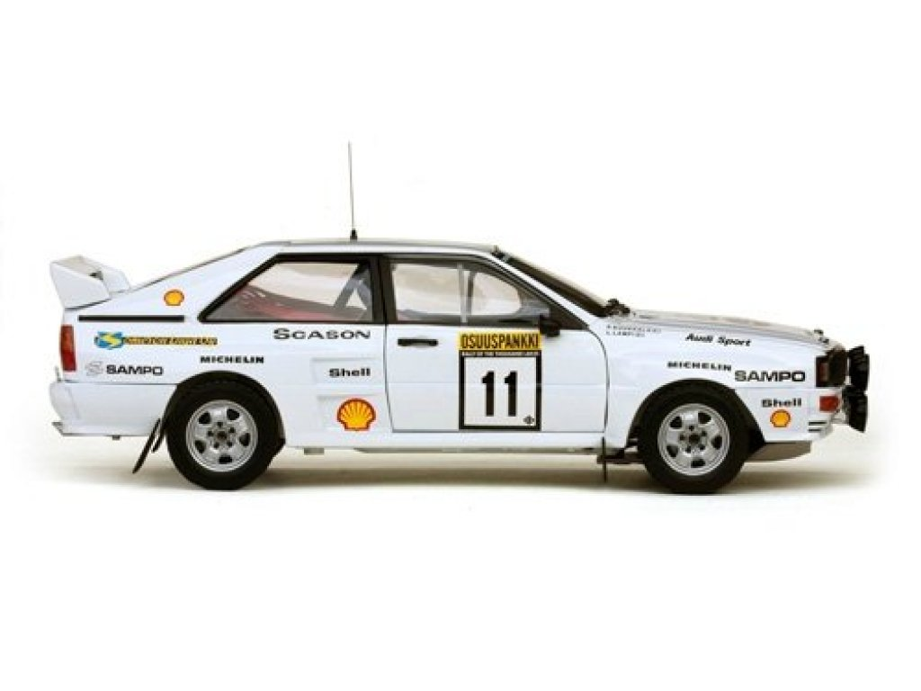 1:18 Sunstar Audi Quattro A2 #11 Lampi/Kuukkala 1983 Ралли 1000 озер