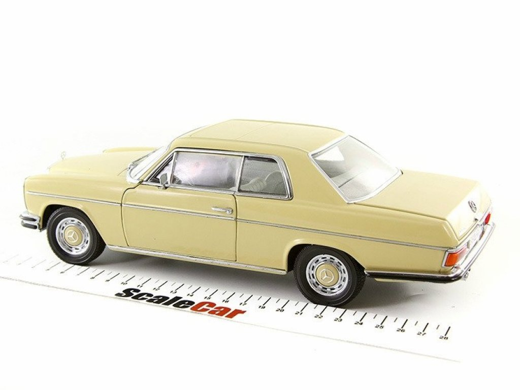 1:18 Sunstar Mercedes-Benz Strich 8 Coupe 1968 W114 бежевый