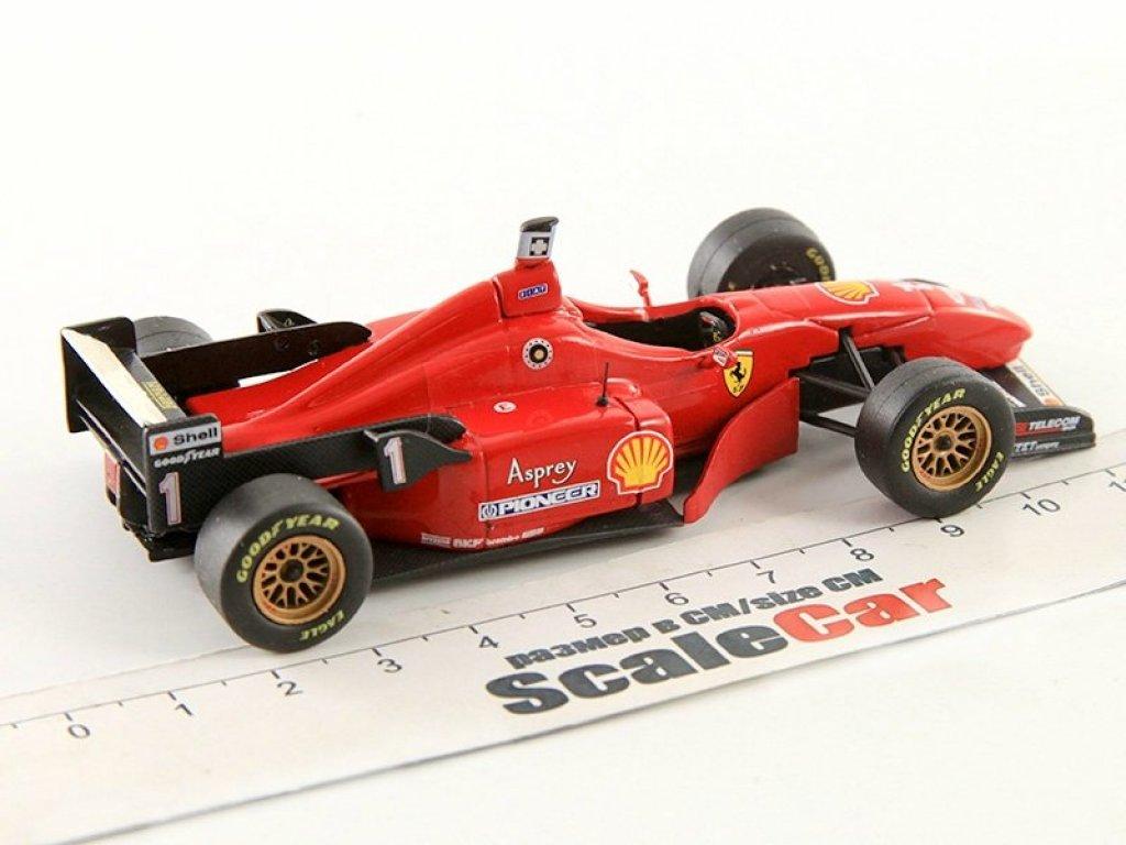 1:43 IXO Ferrari F310 #1 M.Schumacher первая победа за Феррари GP Barcelona 1996