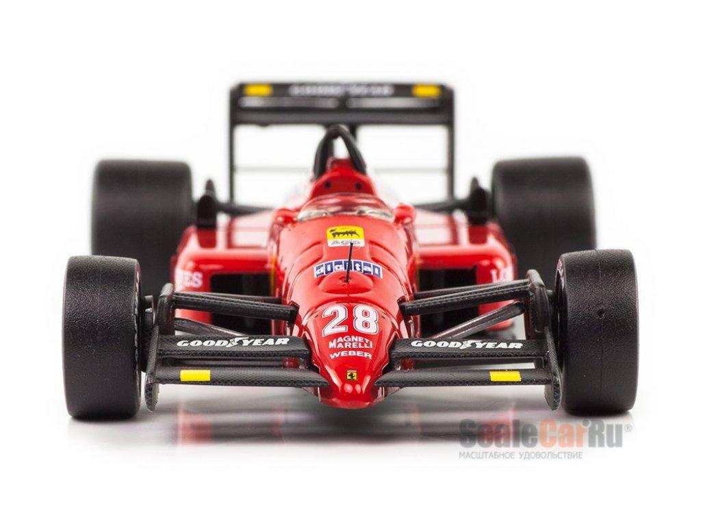 1:43 IXO Ferrari F1 87 #28 Gerhard Berger Japanese GP 1987