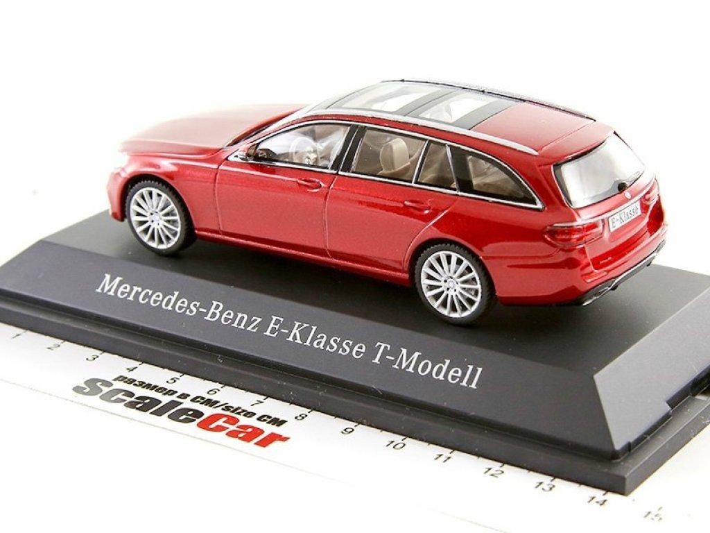 1:43 I-Scale Mercedes-Benz E-Klasse T-Modell AMG line 2016 W213 (S213) hyazinth red красный мет