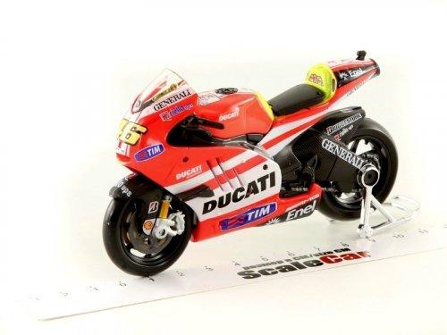 1:18 Maisto Ducati Desmosedici GP11 #46 Valentino Rossi