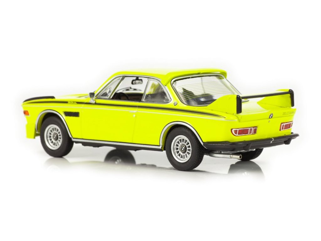 1:43 Schuco BMW 3.0 CSL 1971 yellow