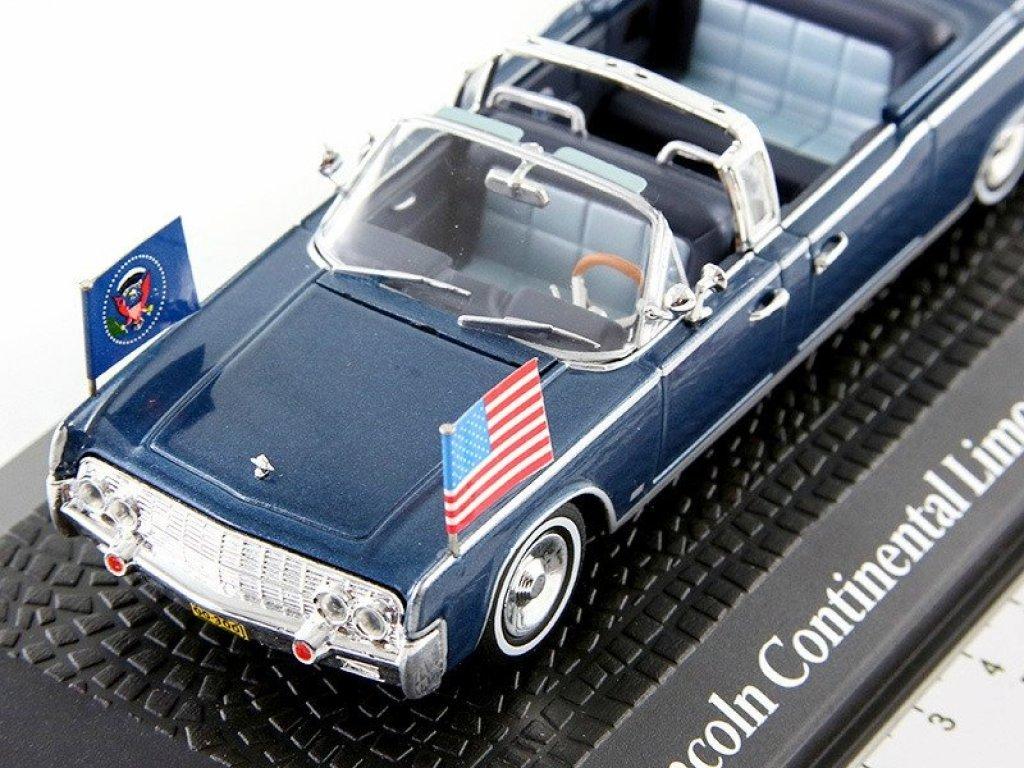 1:43 Atlas Lincoln Continental Limousine SS-100-X президента США Джона Кеннеди 1963
