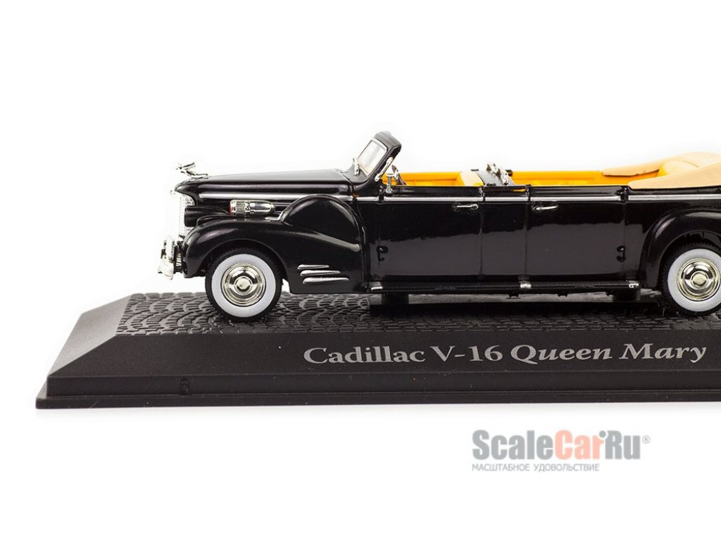 1:43 Atlas Cadillac V-16 Queen Mary & Harry Truman 1948