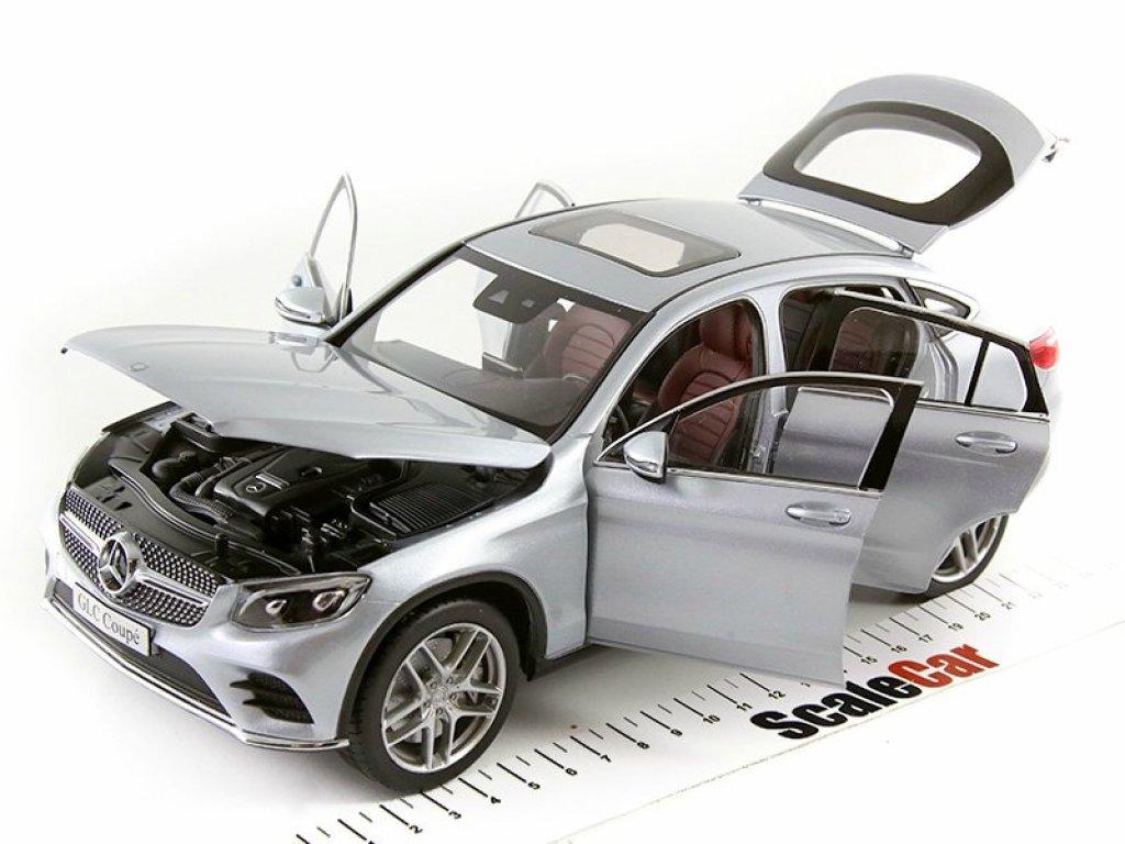 1:18 Norev Mercedes-Benz GLC Coupe 2016 C253 серебристый