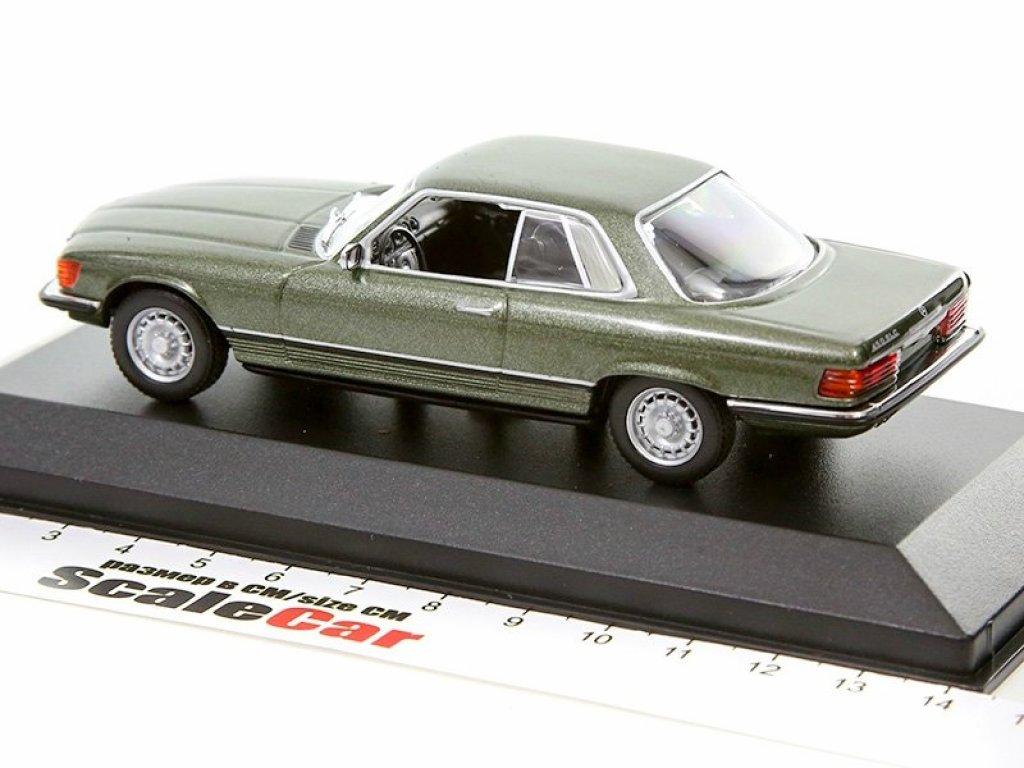 1:43 Minichamps Mercedes-Benz 450 SLC C107 1974 темно-зеленый металлик