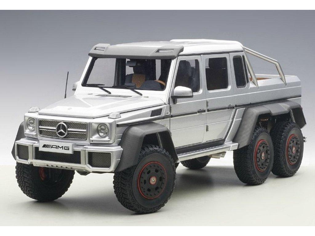 1:18 AUTOart Mercedes-Benz G63 AMG 6x6 2013 (silver) серебристый