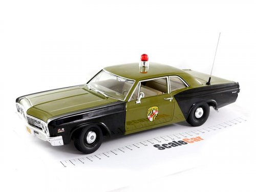 1:18 Auto World Chevrolet Biscayne Maryland State Police 1966 Полиция Мэриленда (США)