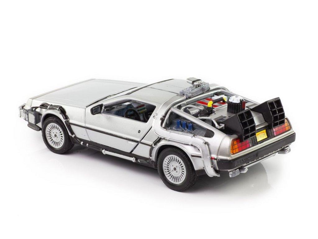 1:24 Welly DeLorean DMC-12 Back to the Future 2 (из к/ф Назад в будущее 2) 1983