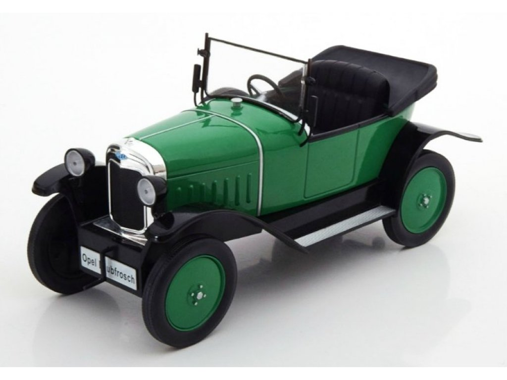 1:18 IXO Opel 4 PS Laubfrosch 1922 зеленый