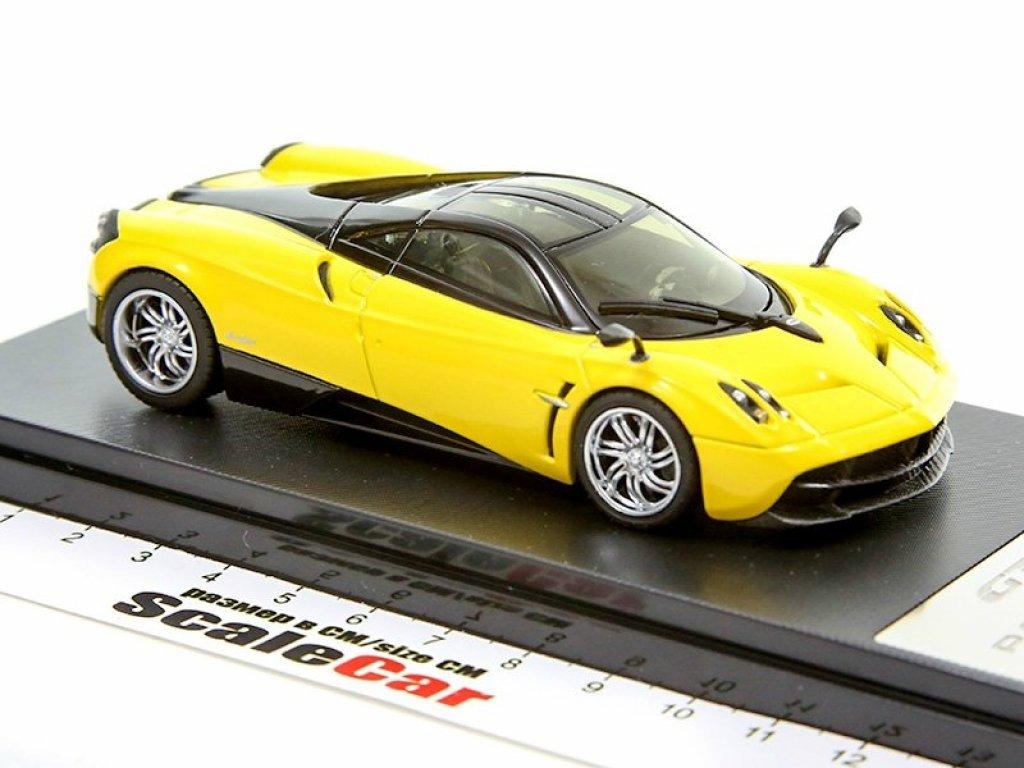 1:43 GT Autos Pagani Huayra 2013 желтый с черным