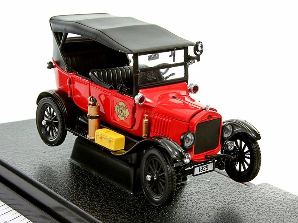 1:24 Sunstar Ford Model T Tourer 1924 Fire Chief пожарный