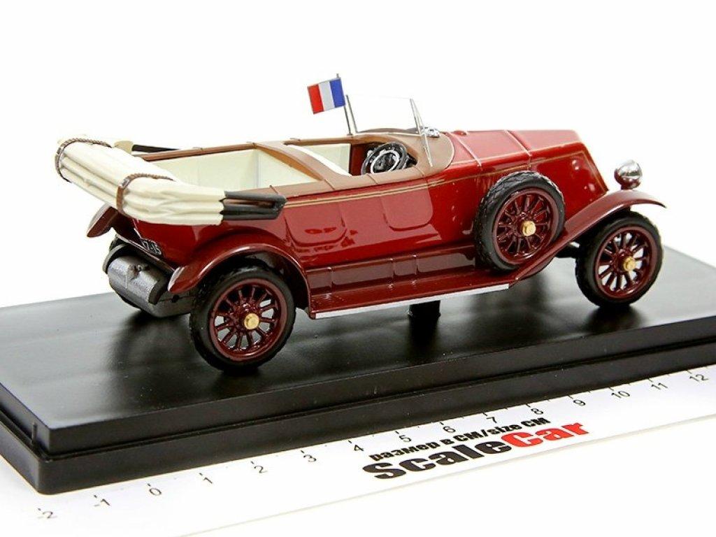 1:43 Rio Renault 40 CV - Gaston Doumergue President Personal Car президент франции