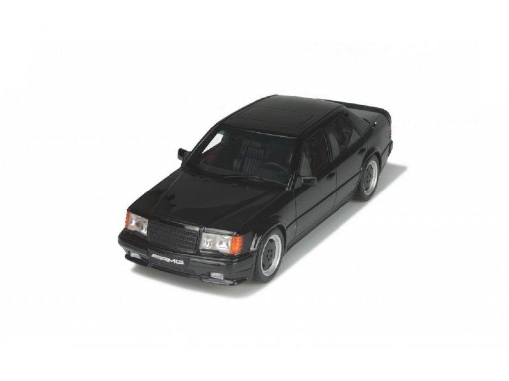 1:18 Otto Mercedes W124 300E 5.6 AMG черный (040)