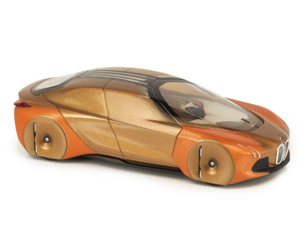 1:43 Norev BMW Vision Next 100 бронза/оранжевый