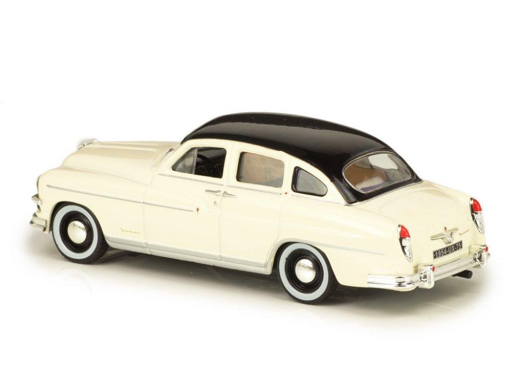 1:43 Atlas Ford Vedette Vendome 1952 желтый с черным