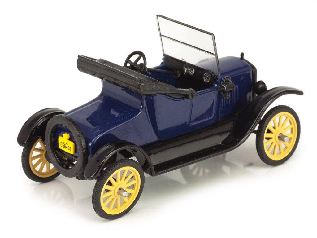 1:43 WhiteBox Ford T Runabout 1925 Blue/Black синий с черным
