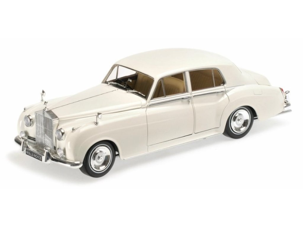 1:18 Minichamps Rolls Royce Silver Cloud II - 1960 - White белый