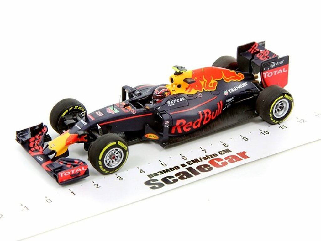 1:43 Minichamps Red Bull Racing Tag-Heuer RB12 - Daniil Kvyat - 2016 Даниил Квят