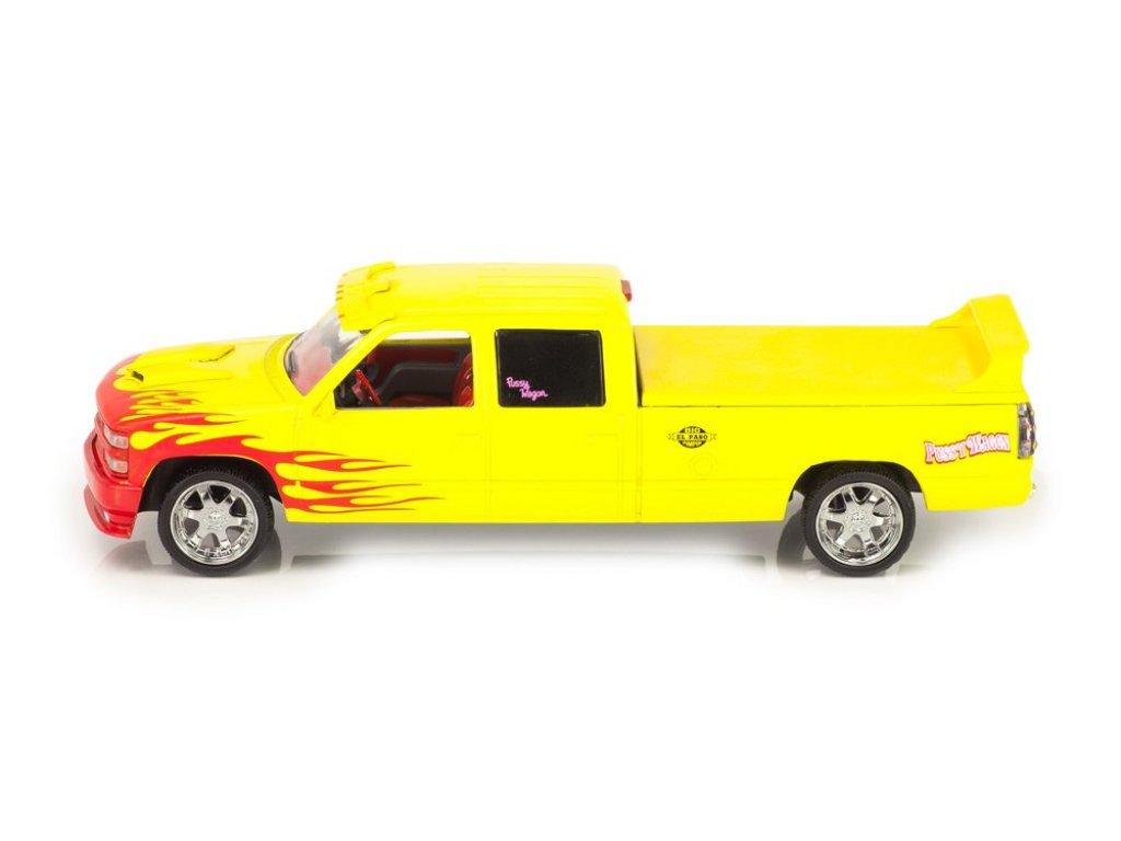 1:43 GreenLight CHEVROLET C-2500 Silverado Custom Crew Cab Pussy Wagon 1997 (из к/ф Убить Билла)