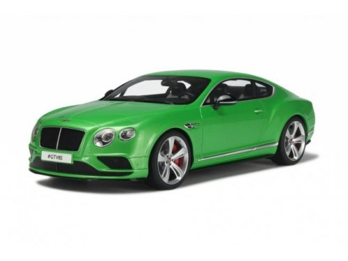 1:18 GT Spirit Bentley Continental GT V8 S Coupé Apple Green Metallic зеленый металлик