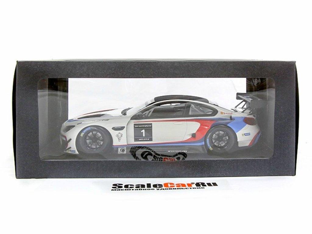 1:18 Kyosho BMW M6 GT3 #1 BMW Sportstrophy 2016