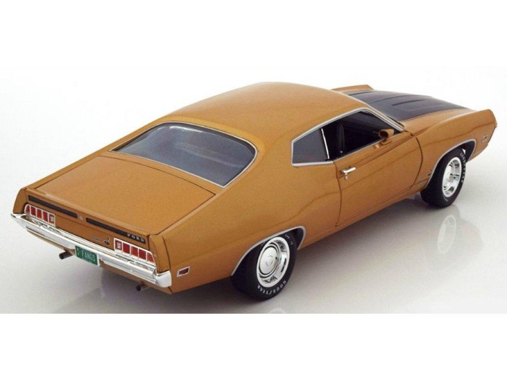 1:18 Auto World Ford Torino Cobra 1970 бронзовый