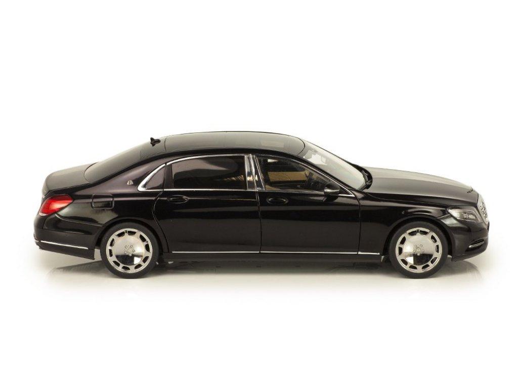 1:18 AUTOart Mercedes-Maybach S-Klasse S600 (SWB) X222 (W222) 2015 черный