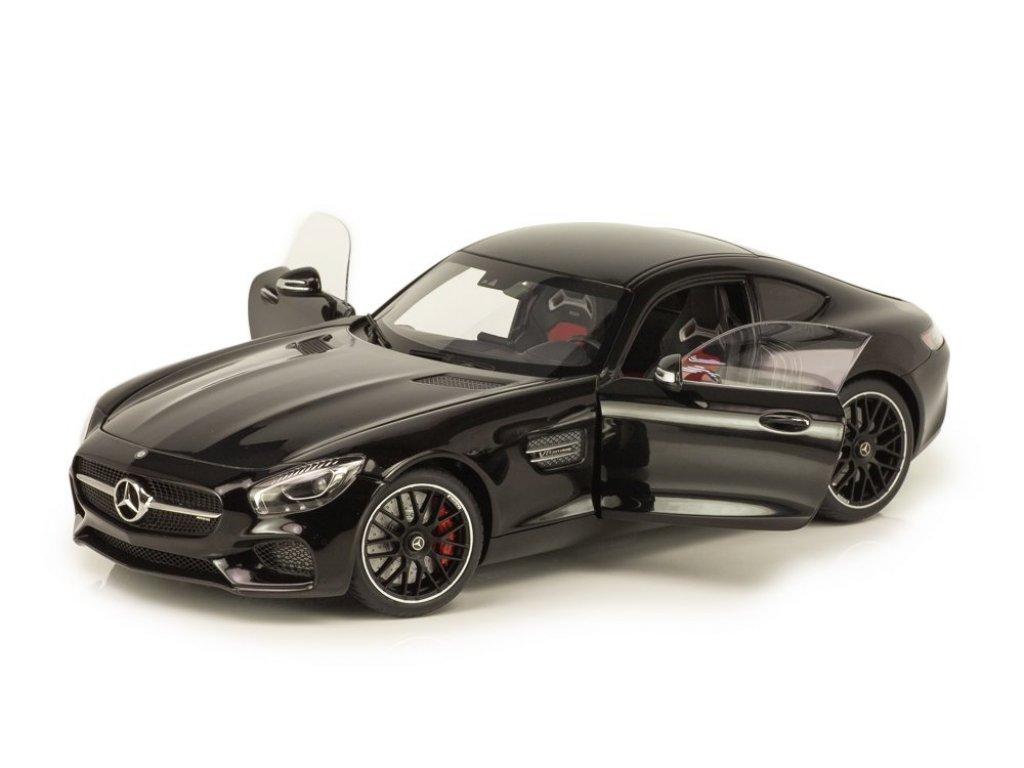 1:18 AUTOart Mercedes-Benz AMG C190 GT-S черный