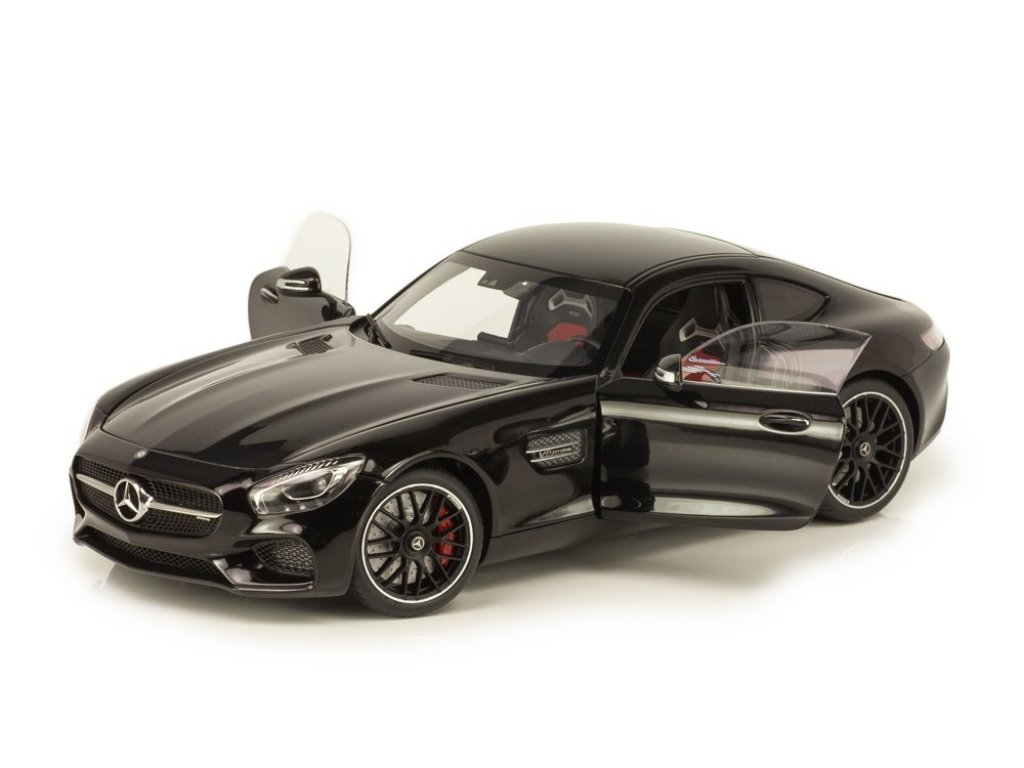 1:18 AUTOart Mercedes-Benz AMG GT-S черный
