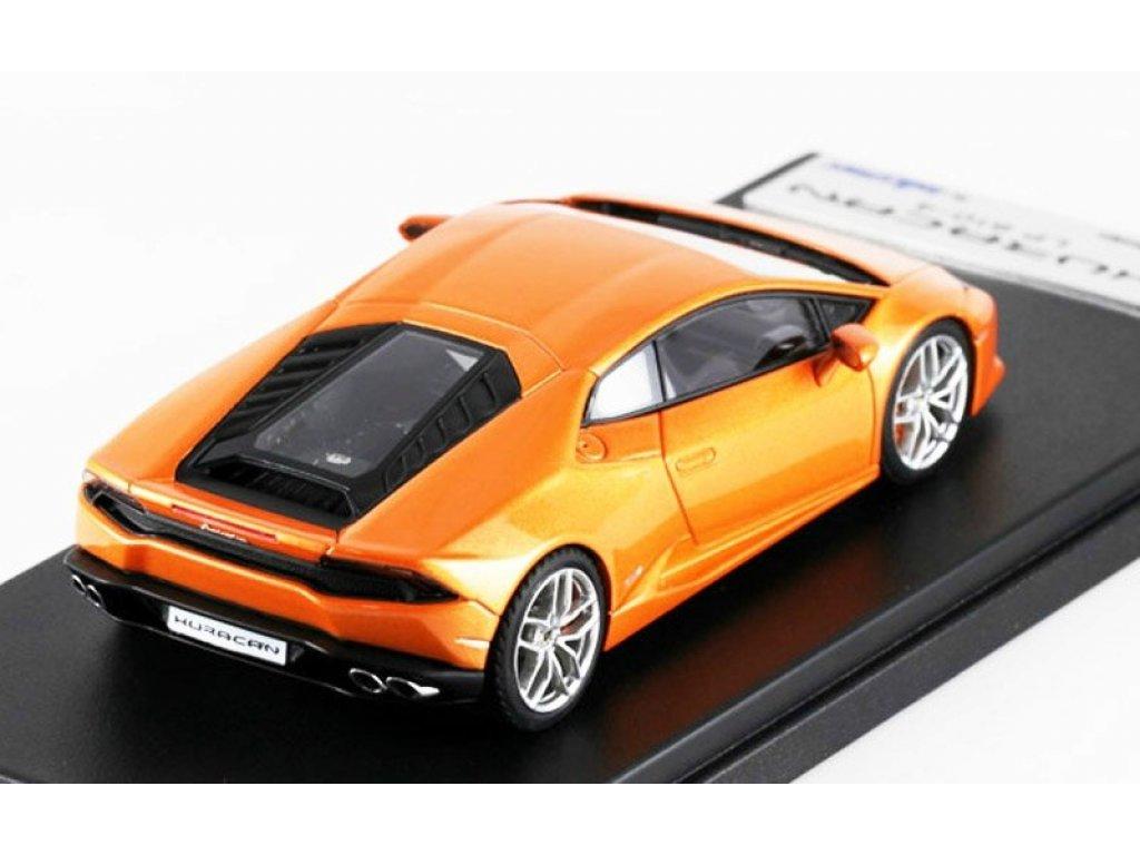 1:43 LookSmart Lamborghini Huracan LP 610-4 оранжевый