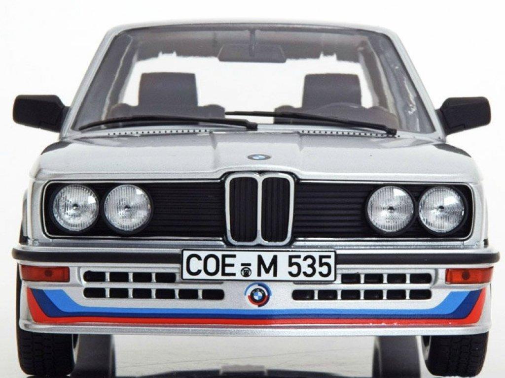 1:18 Norev BMW M535 E12 серебристый