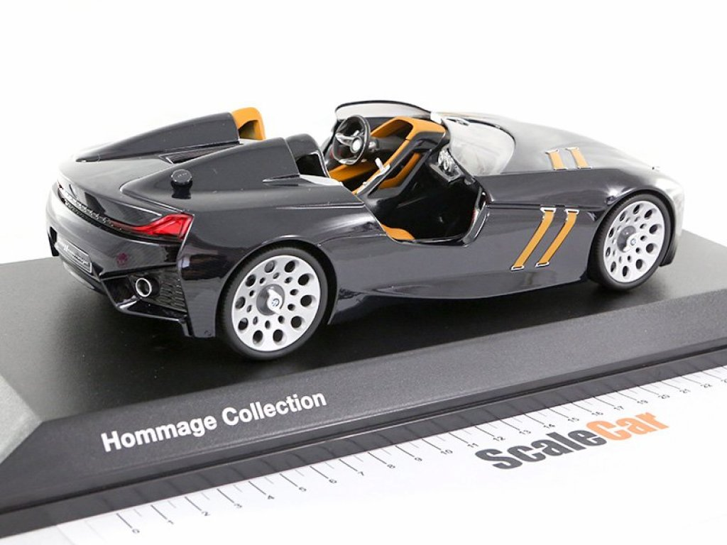 1:18 Norev BMW 328 Tribute black carbon