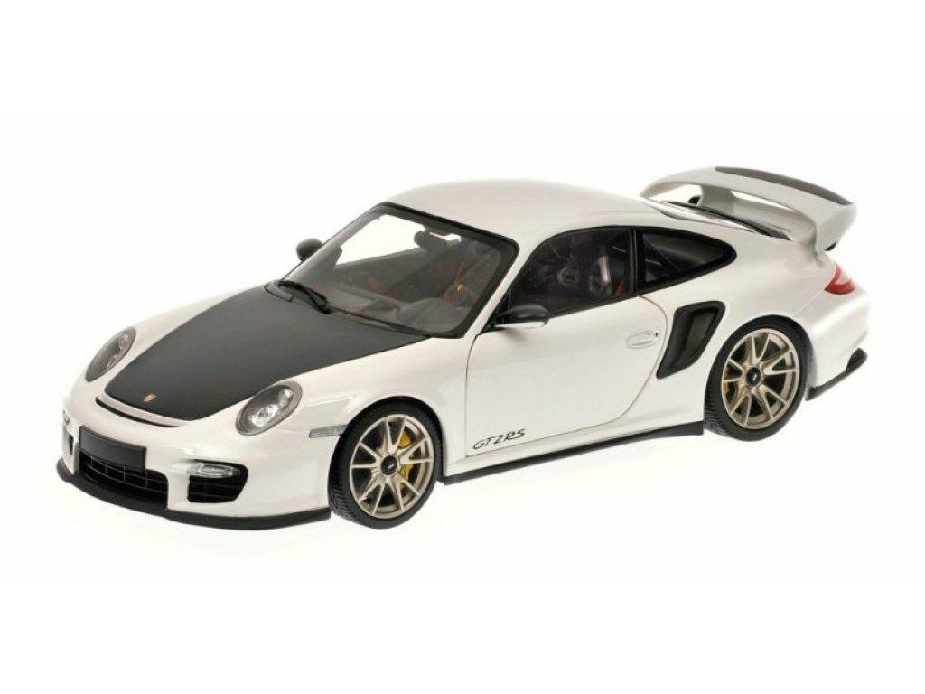 1:18 Minichamps Porsche 911 GT2 RS (997) 2011 белый