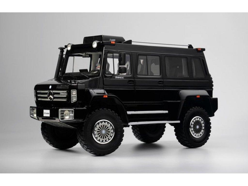 1:18 GLM Mercedes-Benz Unimog Wagon U5000 4х4 2012 черный