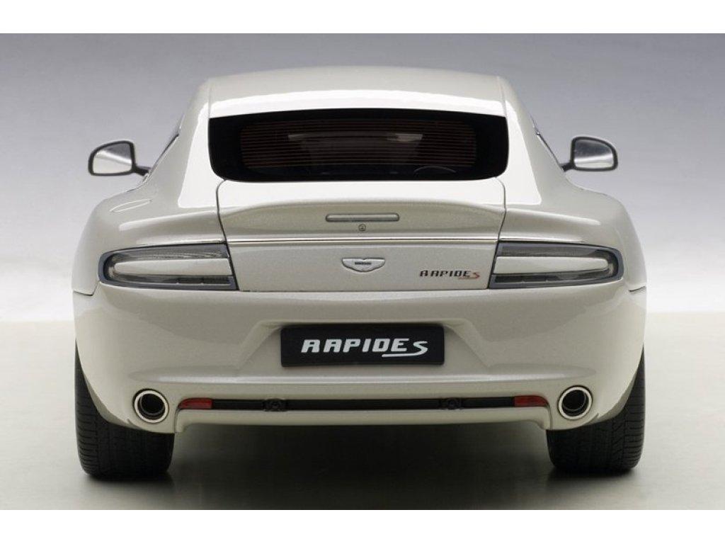 1:18 AUTOart Aston Martin Rapide S 2015 silver fox серебристый