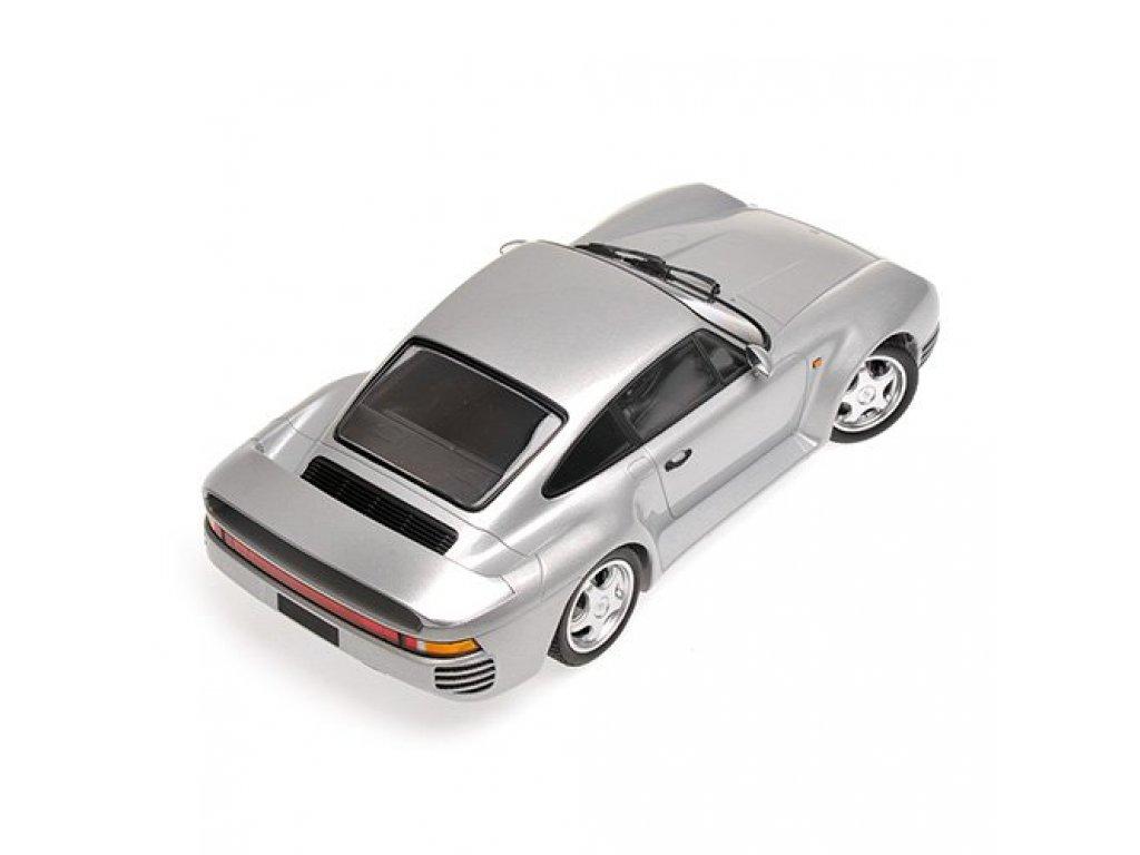1:18 Minichamps Porsche 959 - 1987 - серебристый