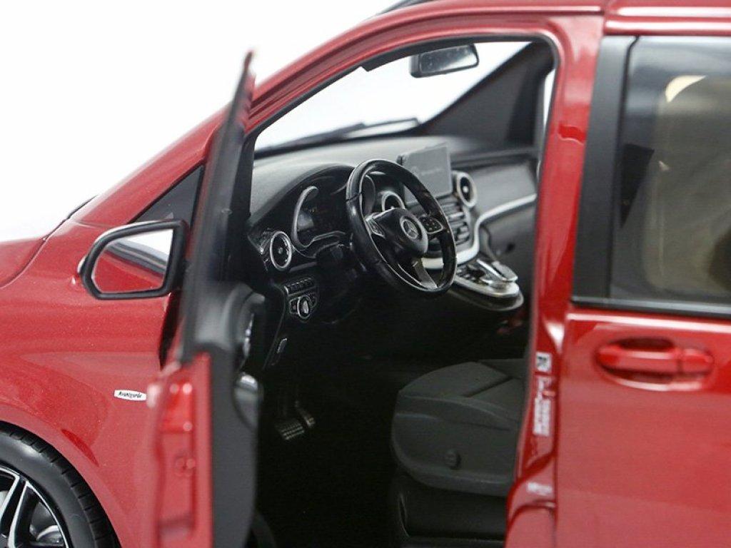 1:18 Norev Mercedes-Benz V-Klasse W447 2014 красный металлик
