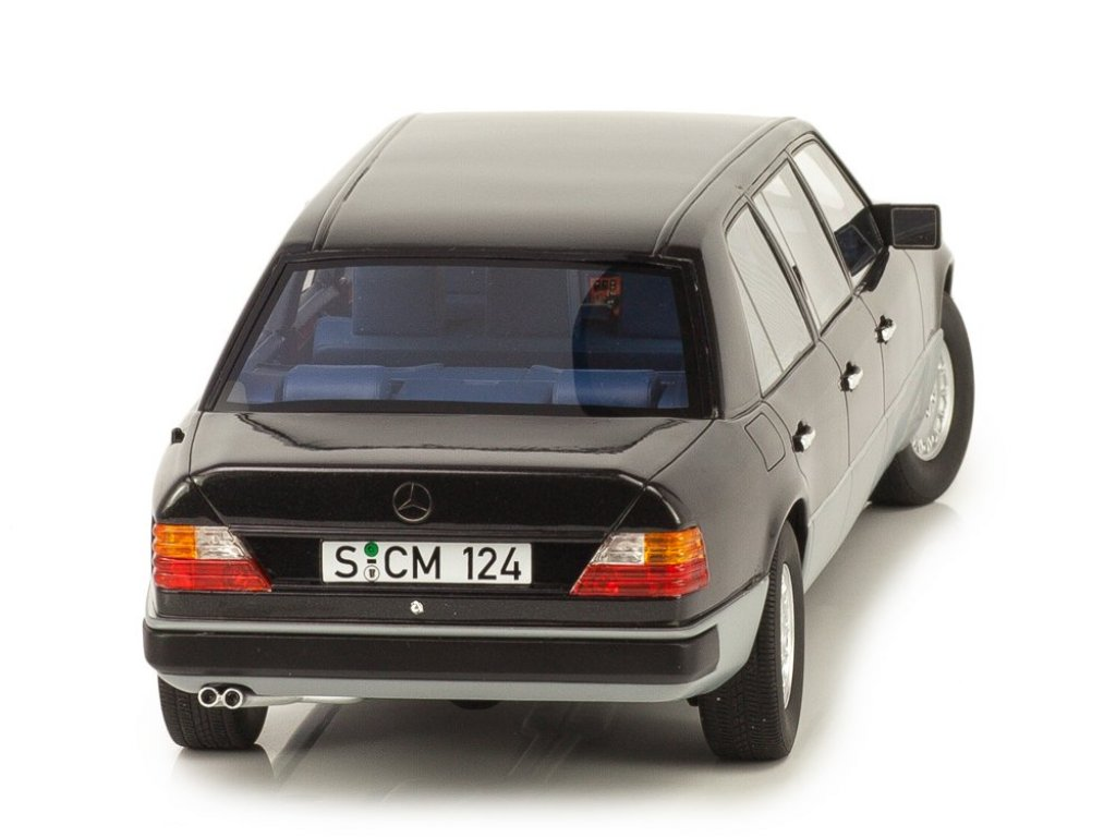 1:18 CULT Scale Models Mercedes-Benz 260E Lang V124 (W124) 1990 черный