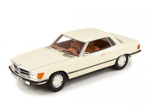 1:18 CULT Scale Models Mercedes-Benz 350SLC C107 1973 белый